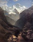 Вид в Швейцарских Альпах