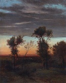 Вечер. Конец 1860-х - начало 1870-х