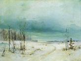 Зима. Конец 1870-х - начало 1880-х