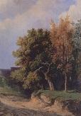 Пейзаж с дорогой. 1855