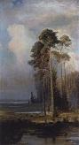Осень. Сокольники. 1880-1890-е