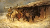 Rau_Emil/Schreyer_Adolf_Wallachian_Horseman_In_The_Snow